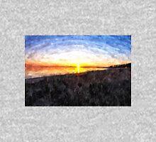 Beautiful sunset above the sea Unisex T-Shirt