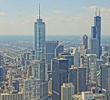 Skyline from Hancock by Kathy Russell