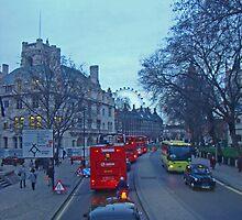 London Sights by Al Bourassa