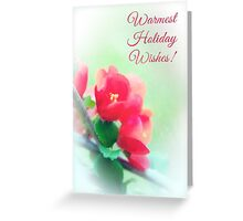 Quince Holiday Card Greeting Card