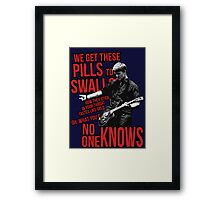 No One Knows - Queens Of The Stone Age Framed Print