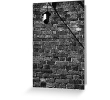 Alley Light Greeting Card