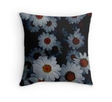 Deeply Daisies Throw Pillow