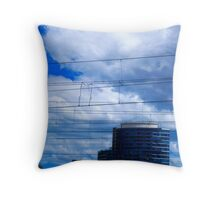 Docklands Throw Pillow