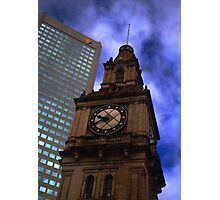Architecture in Melbourne Photographic Print