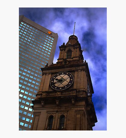 Architecture in Melbourne Photographic Print