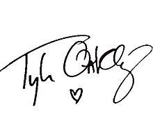 Tyler Oakley - Autograph Photographic Print