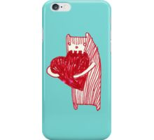 Chewy love heart  iPhone Case/Skin