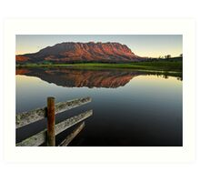 Mount Roland Reflections Art Print