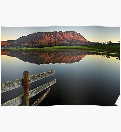 Mount Roland Reflections Poster