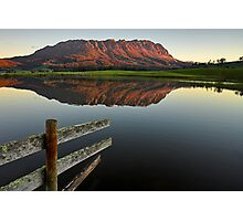 Mount Roland Reflections Photographic Print