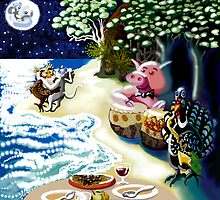 They dined on mince.... by goanna