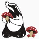 Badger And Mushroom