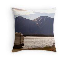 Atlin Lake, B-C, Canada Throw Pillow