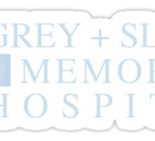 GREY + SLOAN MEMORIAL HOSPITAL | GREY'S ANATOMY Sticker