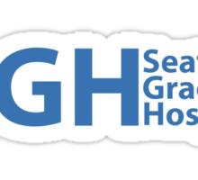 SEATTLE GRACE HOSPITAL - GREY'S ANATOMY Sticker