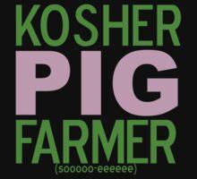 Kosher Pig Farmer by Karin  Hildebrand Lau