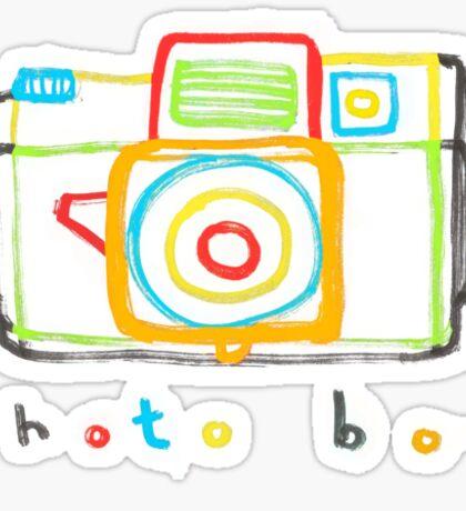photo box Sticker