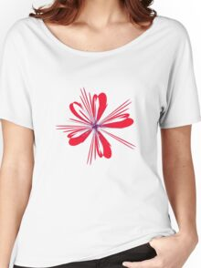Red Ribbon Women's Relaxed Fit T-Shirt