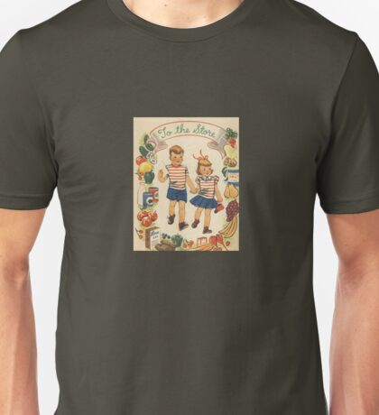 To the Store - Vintage Shopping Unisex T-Shirt
