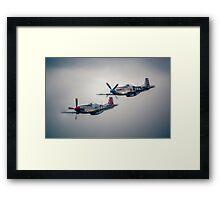 North American P-51 Mustangs Framed Print