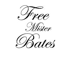 Free Mister Bates Photographic Print
