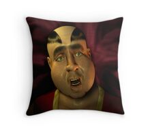 Big Belly Marv Throw Pillow