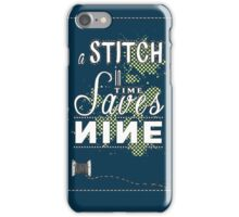 Time Typography iPhone Case/Skin