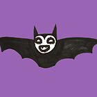 a happy bat by Cat Bruce