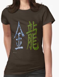 Metal Dragon  1940  and   2000  Womens Fitted T-Shirt