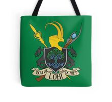 God of Mischief Crest - distressed Tote Bag