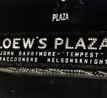 Nelson & Knight at Loew's Plaza by Jason Michaels