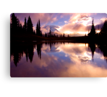 Shrouded In Clouds Canvas Print