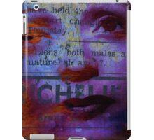 Edith P. la vie en rose  iPad Case/Skin