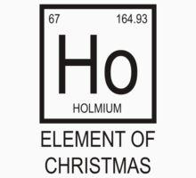 Ho Element of Christmas Kids Tee