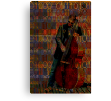 Musical DNA, experiments in musical intelligence Canvas Print