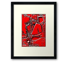 MR. BLEED' S AX Framed Print