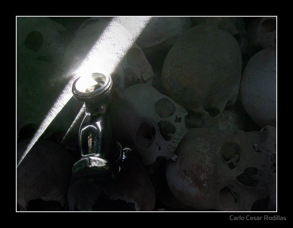 Death Would Be My Shadow If I Can't Bring Water To Mankind  by Carlo Cesar Rodillas