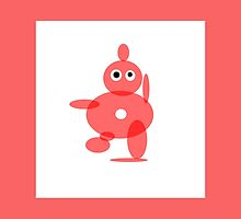 TOMATO SOUP RED ABSTRACT FIGURE by ackelly4