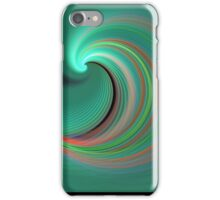 wave of colours iPhone Case/Skin