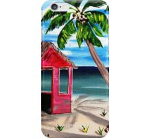 Pink CoCoNut Hut iPhone Case/Skin