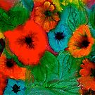 Blossoms in Felt... by © Janis Zroback