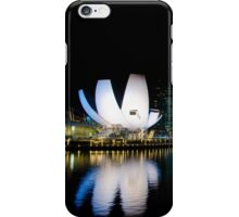 Singapore: The Lotus by Night iPhone Case/Skin