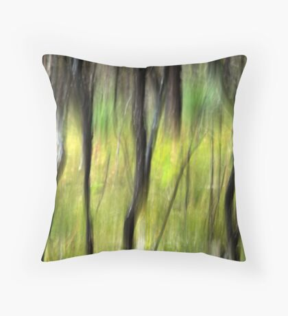 Out of the ashes Throw Pillow