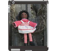 African American Raggedy Ann iPad Case/Skin