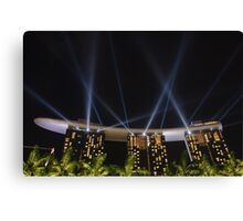 Singapore: The Marina Bay Sands From 0 to 55 Canvas Print