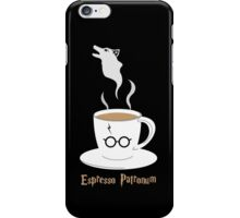 Espresso Patronum - Wolf iPhone Case/Skin