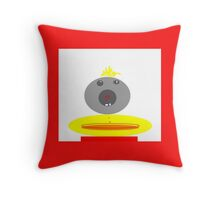 ATTENTION GETTERS BIG BABY SCREAM TEAM Throw Pillow