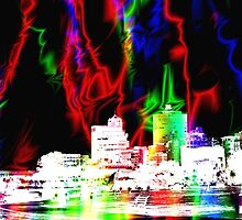 Memphis Magic Contemporary Art  by Barry  Jones