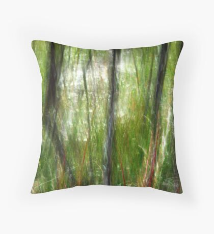 Still Pond Throw Pillow
